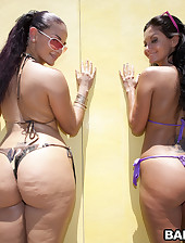 Super fine big ass Ava Addams and Mega..