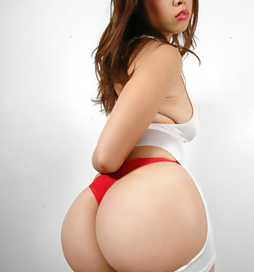 Hot asian biggest ass and big booty babes
