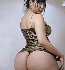 Sexy oriental juicy ass and corpulent ass hotties