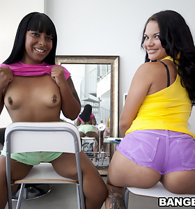 I promise you all are going to have a fun watching Egypt & Violet Vasquez get their phat asses pounded out by some dick.